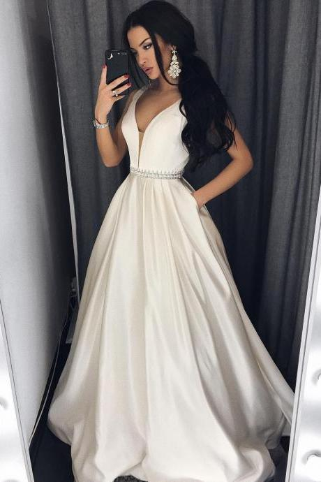 Charming Prom Dress, Elegant Prom Dress,A Line Evening Dress,Formal Dress
