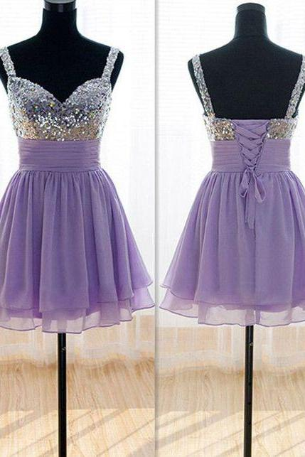 Bg526 Charming Homecoming Dress,Beading Homecoming Dresses,Short Homecoming Dress,Lace up Homecoming Dress