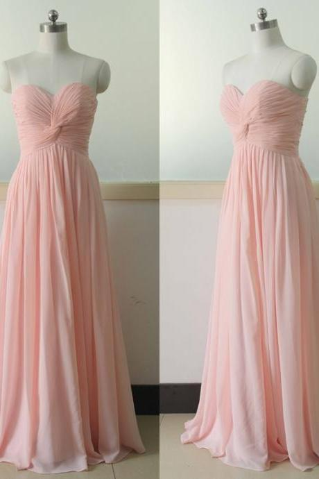 Bg732 Pink Prom Dress,Long Prom Dresses,Chiffon Prom Dress,Long Evening Dress,Women Dress