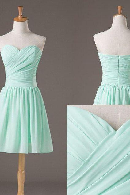 Bg950 Mint Green Homecoming Dress,Short Homecoming Dress,Chiffon Prom Gown,Prom Dress for Junior,Homecoming Dress