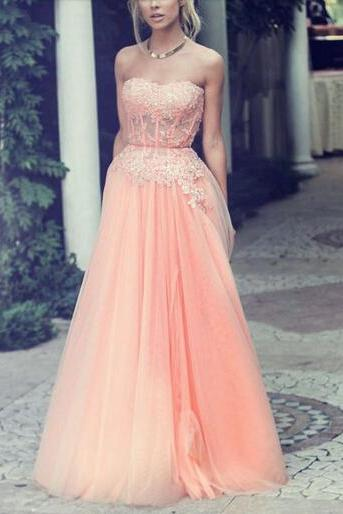 Bg1127 Long Prom Dress,Tulle Prom Dresses,Evening Dress with Beading,Evening Gown