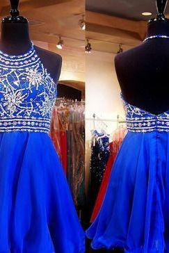 Charming Prom Dress,Tulle Homecoming Dress,Halter Homecoming Dresses,Short Prom Dress