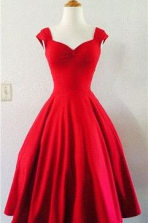 Red Prom Dress,Short Prom Dresses,Elegant Prom Dress,Girl Dress for Party