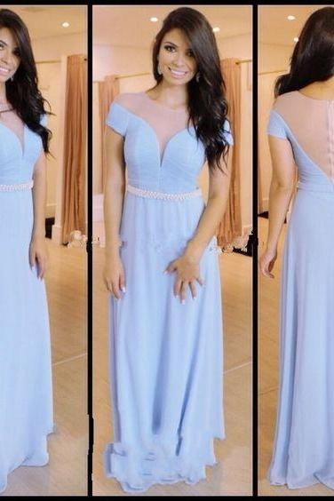 Charming Prom Dress,Chiffon Prom Dress,Sexy Prom Dress,See Though Prom Dress,Long Evening Gown