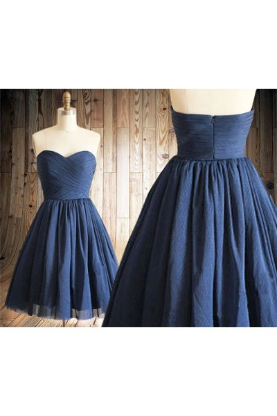 New Arrival Simple Prom Dress,Elegant Prom Dress,Short Prom Dress,Tulle Party Dress
