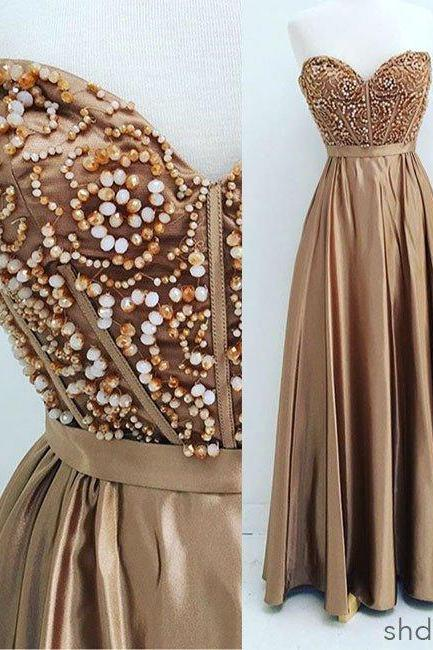 Long Prom Dress,Sweetheart Neck Prom Dress,Long Prom Dress,Elegant Prom Dresses,Evening Dress,Formal Dresses