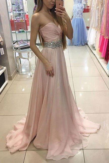 Charming Prom Dress,Sexy Prom Dress, Simple Prom Dresses,Sleeveless Evening Dress,Chiffon Prom Dresses,Women Dress