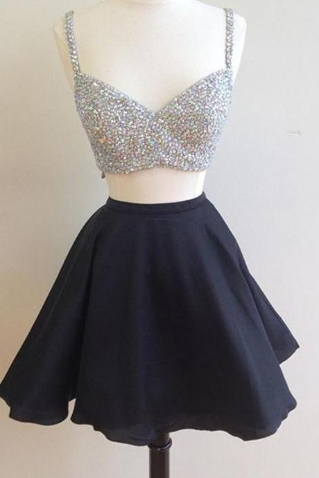 Prom Dress,Sexy Prom Dress,Cute Prom Gown,Two Piece Prom Dress,Sexy Party Dress,Party Gown