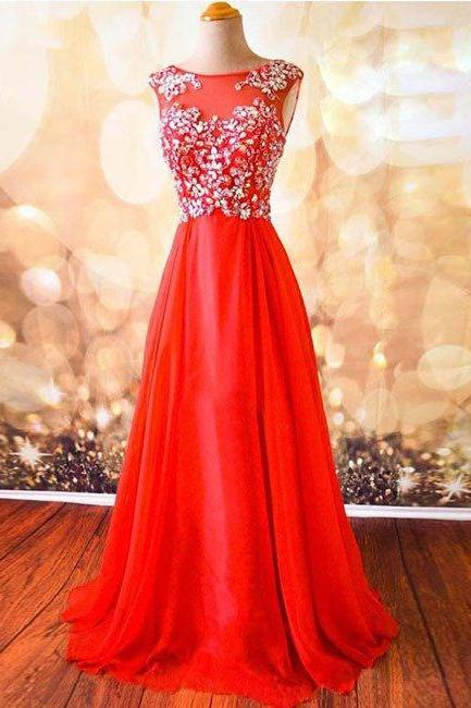 New Arrival Prom Dress,Sleeveless Prom Dress,Beaded Prom Dresses,Long Evening Dress,Sexy Prom Dresses, Formal Dress