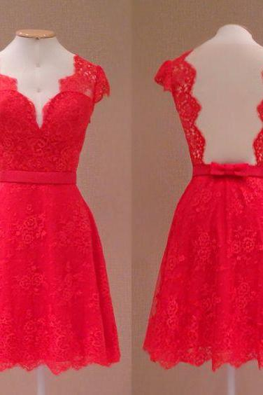 Charming Prom Dress,Sexy Prom Dresses,Short Prom Dress,Lacee Prom Gown,Elegant Prom Dresses