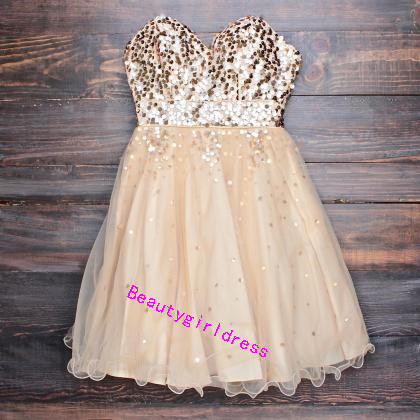 Bg266 Charming Prom Dress,Short Homecoming Dress,Tulle Homecoming Dresses,Beading Homecoming Dress,Pretty Prom Dress