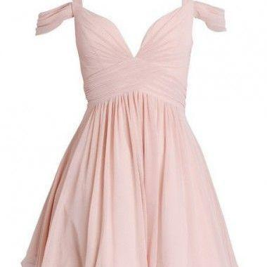 Charming Prom Dress,Chiffon Prom Dress,Short Prom Dress